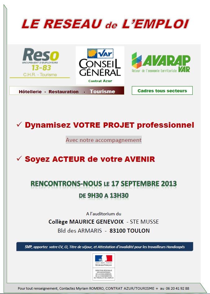 forum emploi 17 09 2013