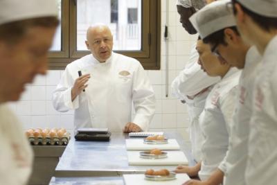 Thierry marx d fend l 39 galit des chances en cuisine reso france le blog - Thierry marx ecole de cuisine ...