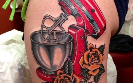 Insolite 10 Tatouages Completement Food Reso 44