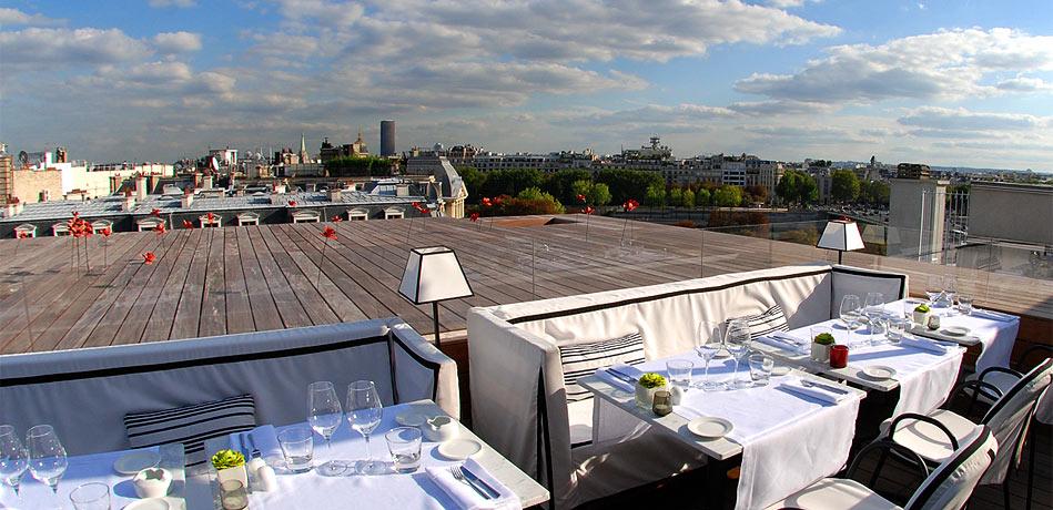 Rooftops de paris par arrondissement reso paris - Restaurant en terrasse paris ...