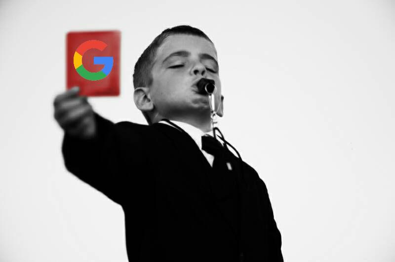 vou n'aimez pas google