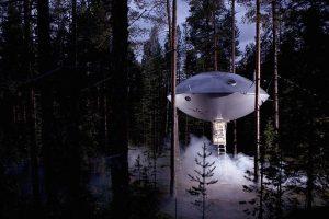 Passez une nuit dans l'espace avec l'hôtel UFO