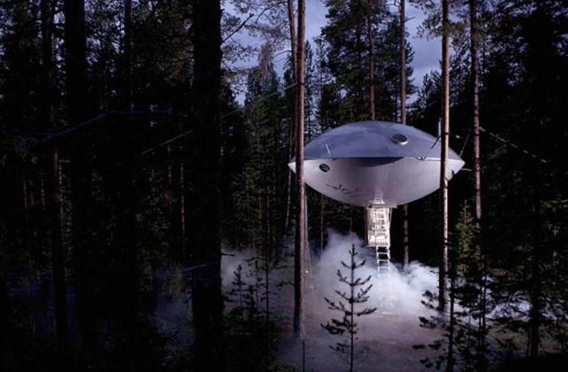 hotel vaisseau spatial