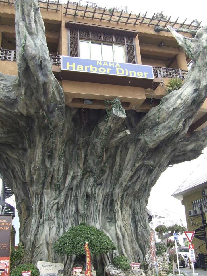 restaurant dans un arbre