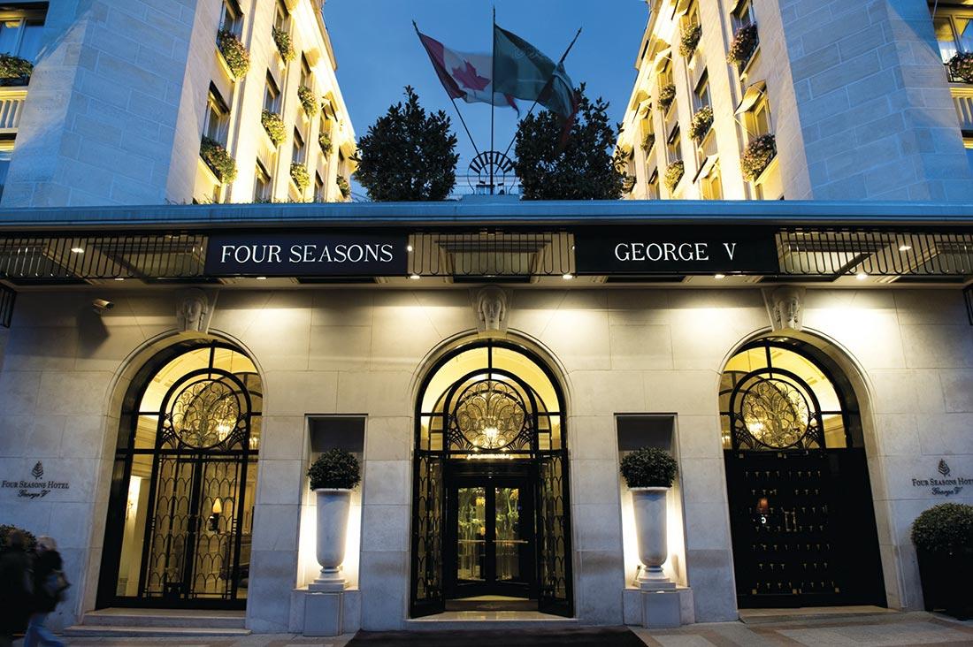 L 39 orangerie nouveau restaurant du george v paris - Hotel georges v paris prix chambre ...