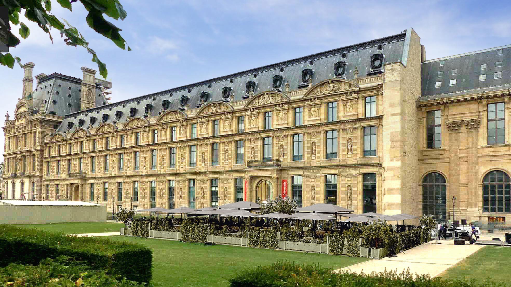 Loulou le nouveau restaurant des jardins du louvre - Les jardins du louvre ...
