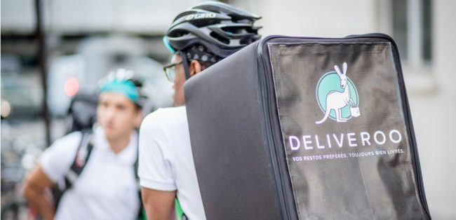 Coursier deliveroo