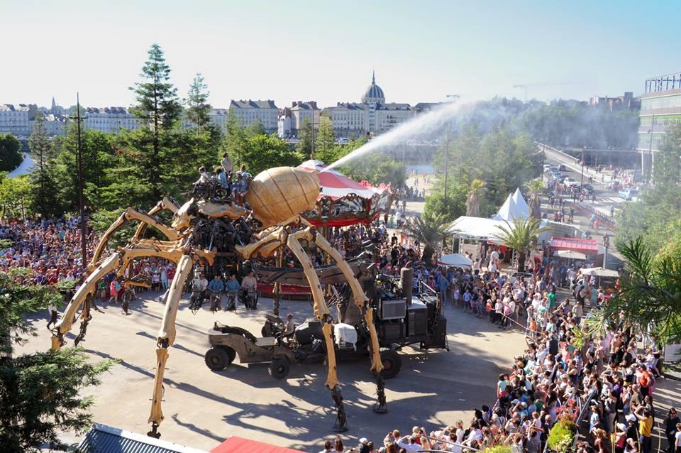 araignée géante nantes