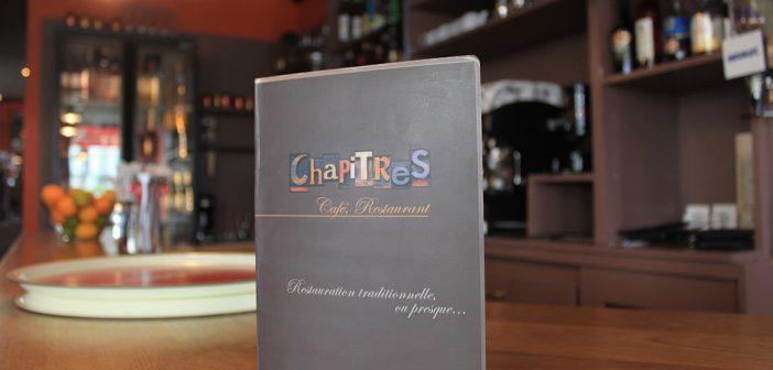 restaurant Chapitres à Brest