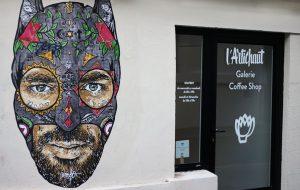 L'Artichaut : café et galerie street art à Nantes