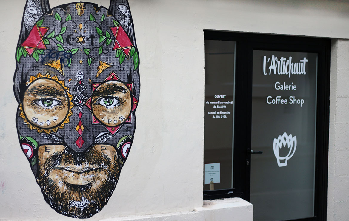 Art color nantes horaires - L Artichaut Caf Et Galerie Street Art Nantes