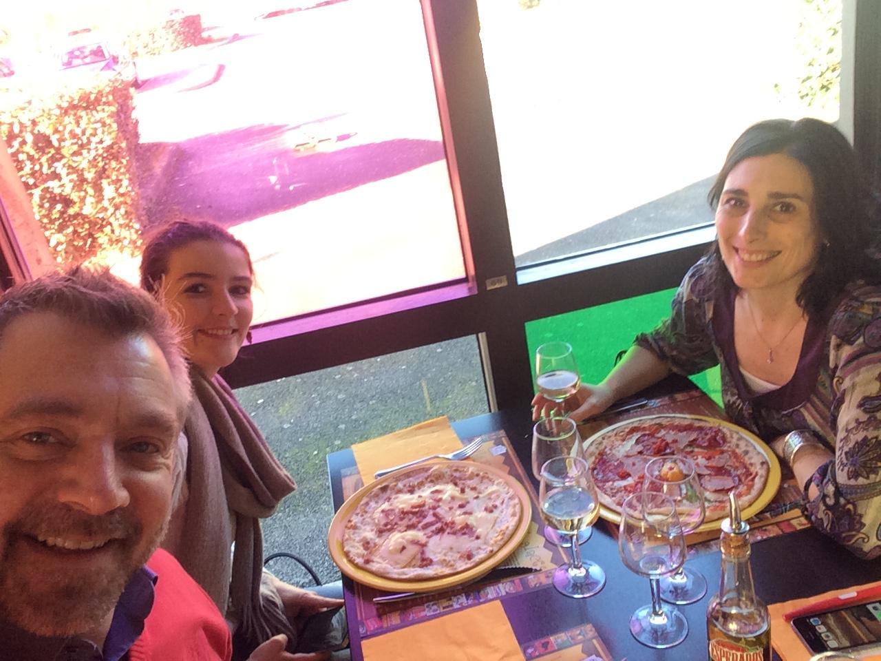 Repas d'équipe RESO 85 à L'Hacienda del Sol à La Roche sur Yon
