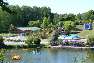 Le domaine de Bel Air : Camping et parc de loisirs à Landudec