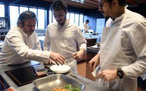 La famille Troisgros a inauguré son nouveau restaurant à Ouches