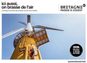 #passezalouest campagne de communication région bretagne