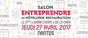 2ème Work'Chope entreprendre en hôtellerie-restauration à Nantes