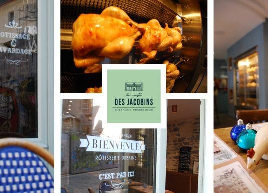 Le Café des Jacobins, ouverture d'un nouveau restaurant rue de Saint-Malo