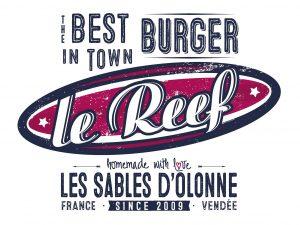 Logo_Le Reef Burgers - Les Sables d'Olonne en Vendée