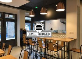 Ouverture du restaurant Home Burger à Saint-Malo