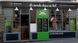 Le Monde dans un Bol: nouveau restaurant des travailleurs du midi à Nantes