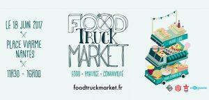 Food Truck Market : événement gourmand le 18 juin à Nantes
