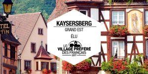 Kaysersberg, élu Village Préféré des Français