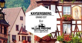 kaysersberg village préféré des français