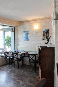L'intérieur du Restaurant Escapades à Bénodet