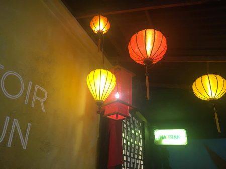 Le Comptoir du Bo Bun : lanternes
