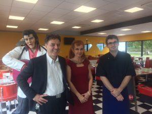 équipe Angel's Italian Diner à Quimper