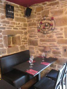 interieur restaurant Sherlock Holmes à Quimper