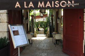 A la Maison, nouveau restaurant à Meung-sur-Loire