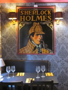 Le Sherlock Holmes restaurant Quimper