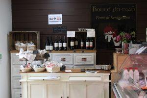 boutique de boued du man saucissons et vins