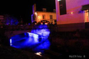 La rivière lumineuse de Pont Aven en Lumière