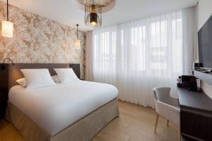 Les chambres luxe de l'Hôtel l'Arbre Voyageur à Lille