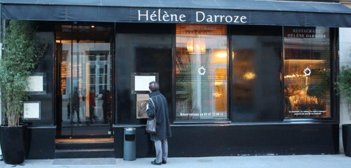 restaurant Hélène Darroze à Paris