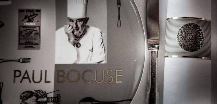 Chef étoilé Paul Bocuse chef de la gastronomie