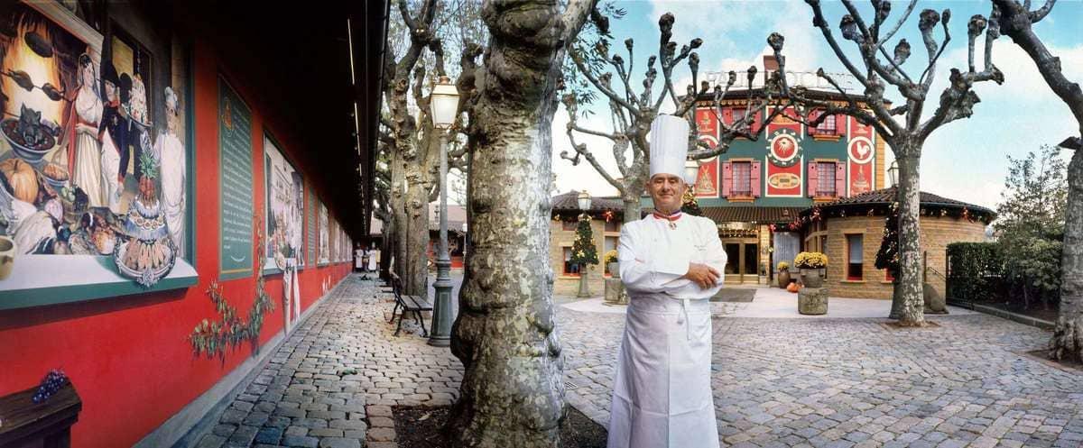 Portrait Paul Bocuse pape de la gastronomie