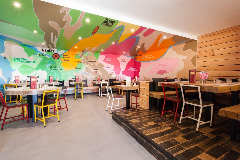 Café restaurant La Cantine du Vignoble à Basse Goulaine