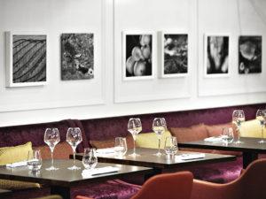 Les tables du restaurant Sofitel à Strasbourg en Alsace