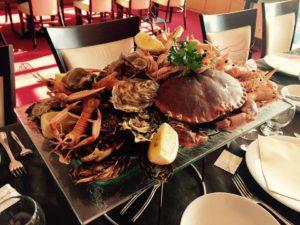 Les délicieux fruits de mer de l'Hôtel Océan à Concarneau