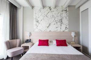 Chambre duplex à l'Hôtel Océan Concarneau