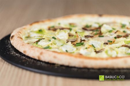 Pizza fait maison Basilic & Co Nantes