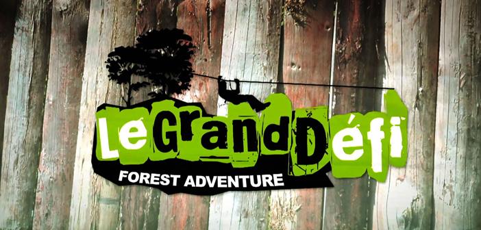 Le Grand Défi, parc d'aventures dans les arbres à Saint Julien des Landes en Vendée