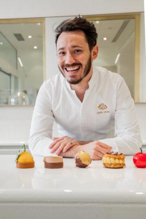 Portrait de Cédric Grolet élu meilleur chef pâtissier de restaurant au monde