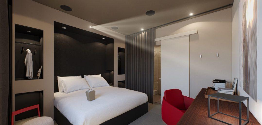 Chambre de projection Atrium - Hôtel 4 étoiles Lyon