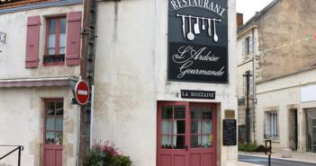 Façade du restaurant L'Ardoise Gourmande à Luçon en Vendée