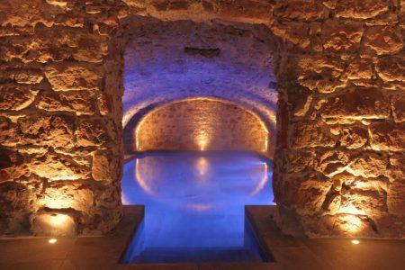 Piscine cave 5 terres hotel et spa