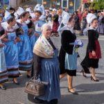 Le Festival des Filets Bleus à Concarneau en Bretagne